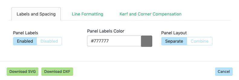 Adjust Labels and Spacing