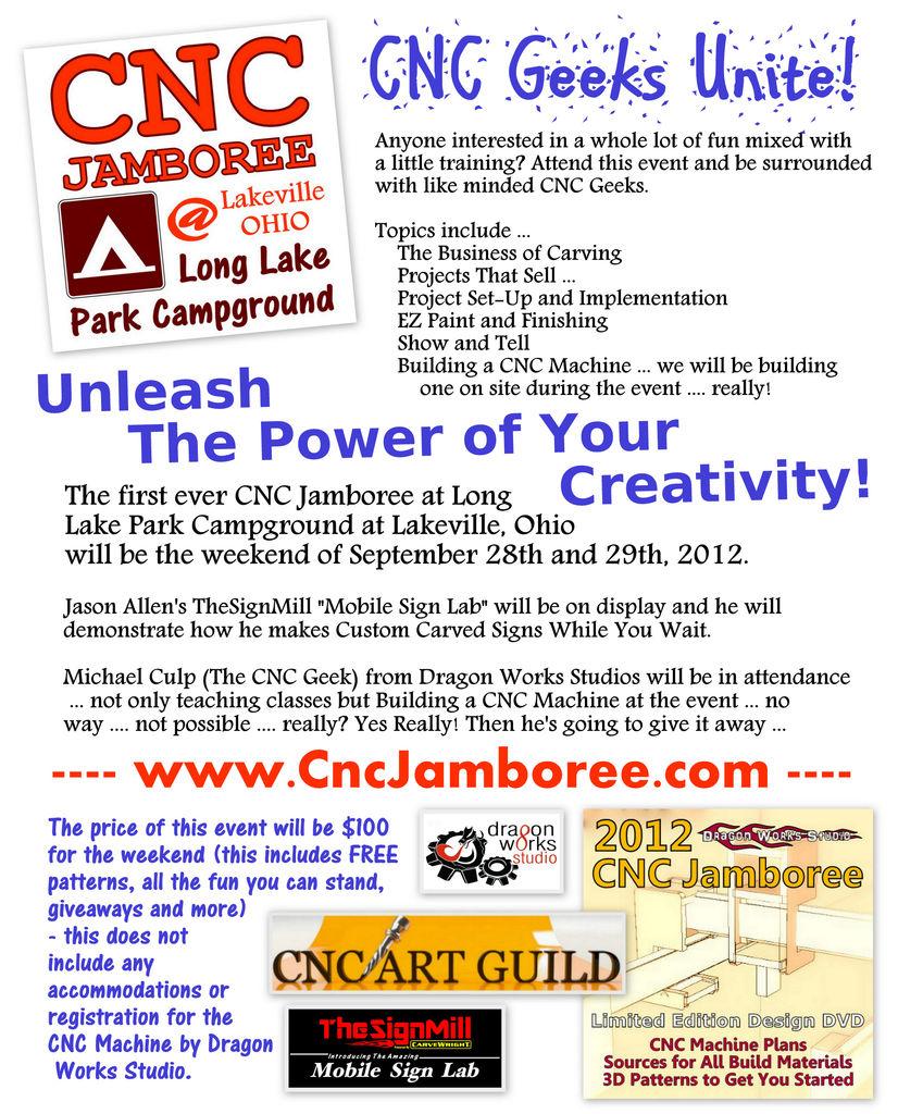 Picture of 2012 CNC Jamboree