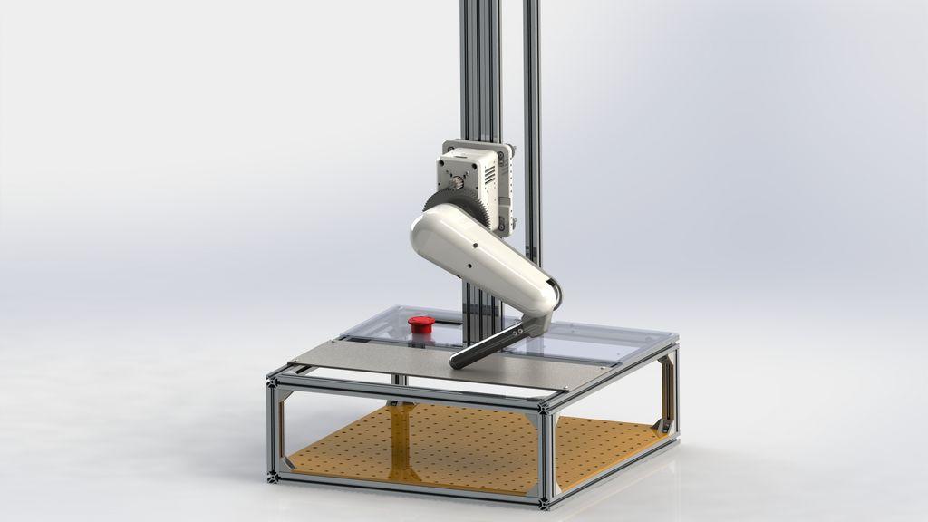 Picture of OpenLeg - Dynamic Robotic Leg