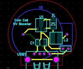 BOOST CONVERTER USING COIN CELL