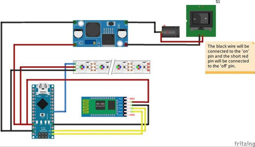 The Components' Schematic