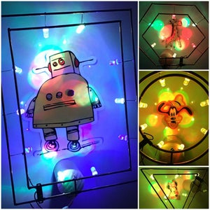 Magnetic Fridge RGB LED Frame