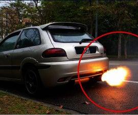 Rev Limiter Flame Throwing
