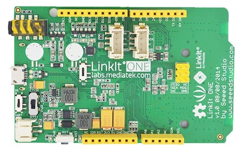 LinkIt ONE: Front View
