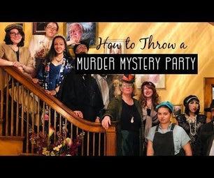 如何举办一名现场谋杀谋杀派对