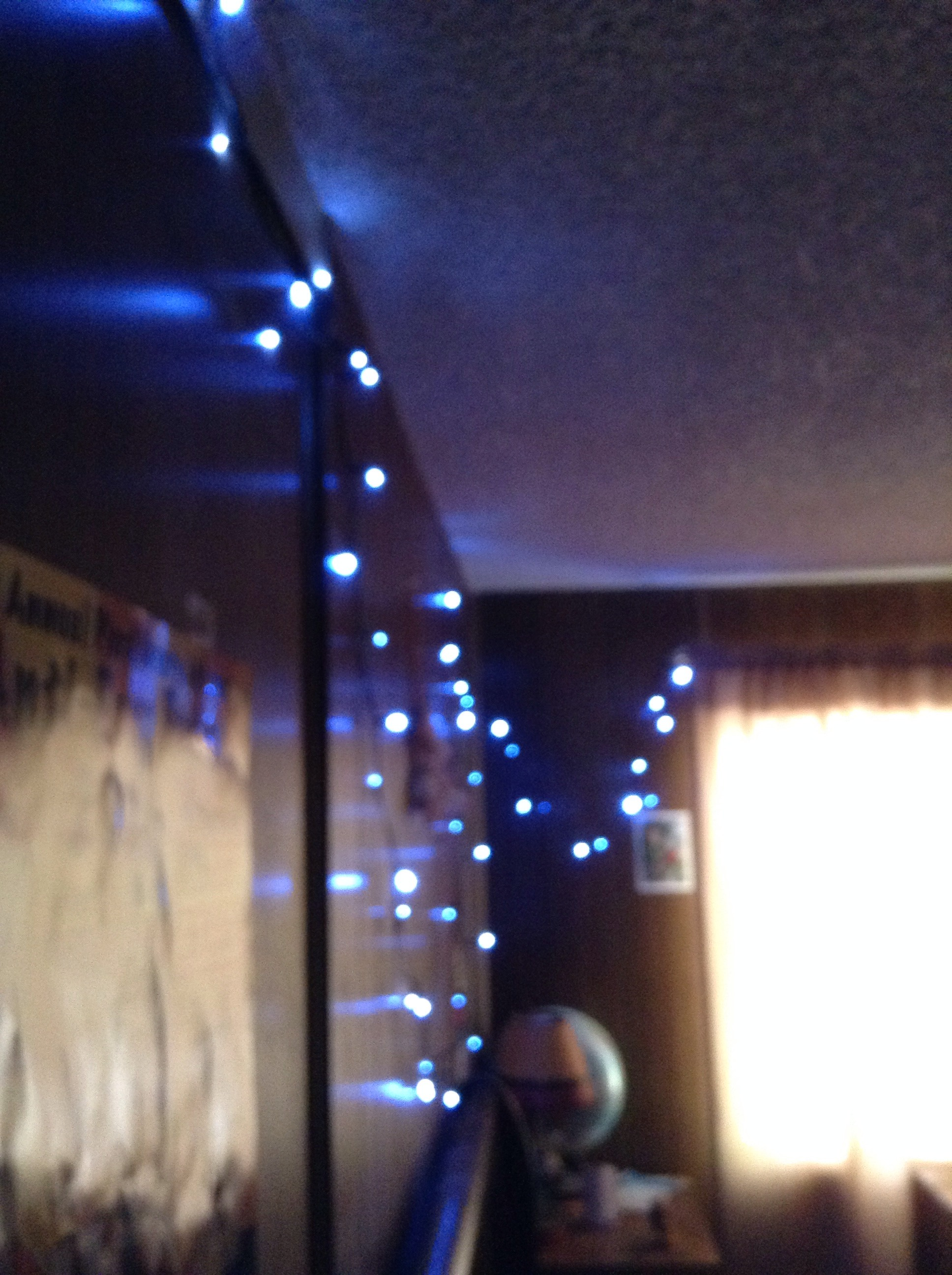Self Recharging Christmas Lights