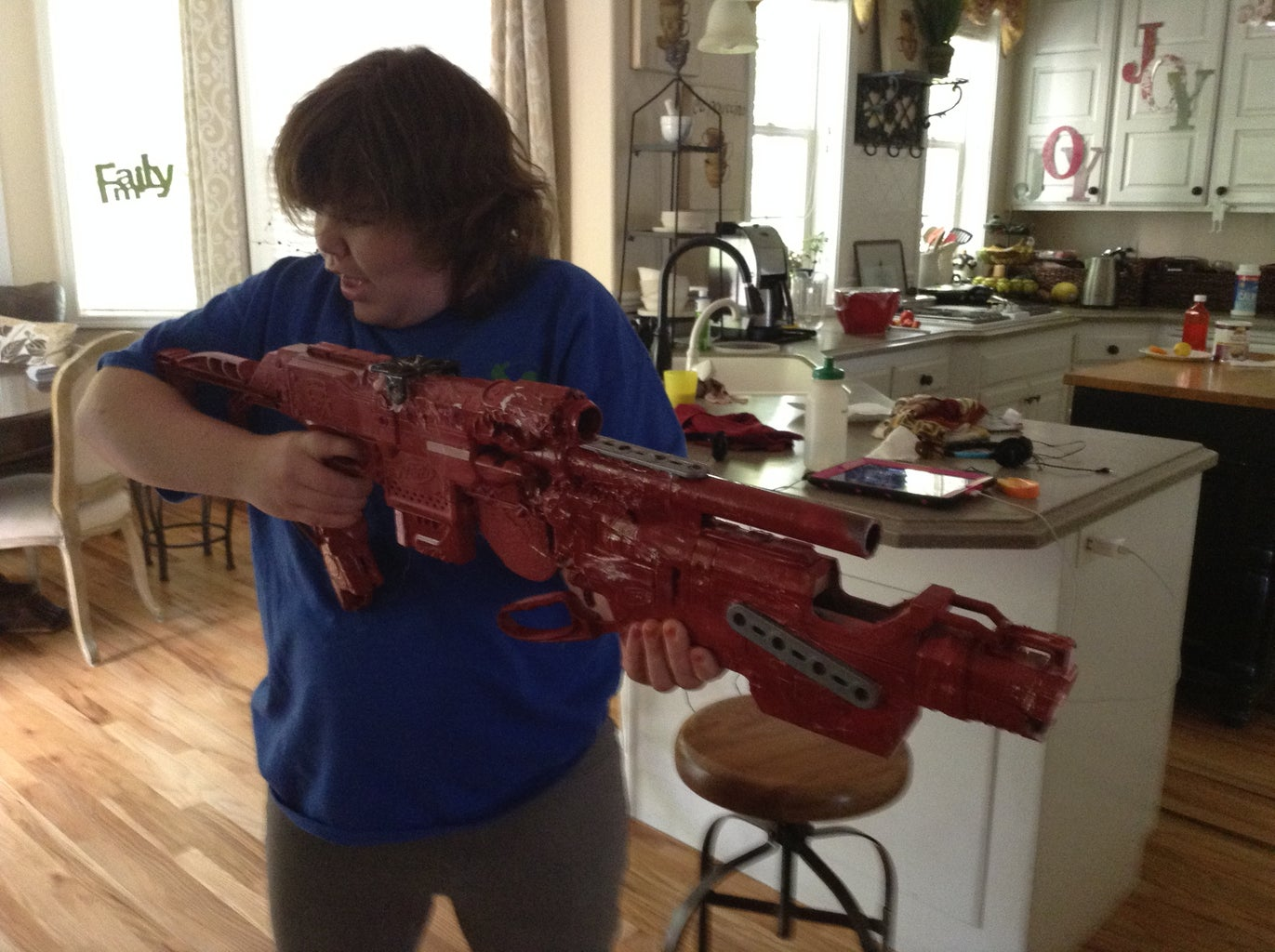 Futuristic Rifle/nerf Integration(and Exterior Modding)