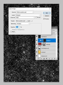 Add the Dust Texture