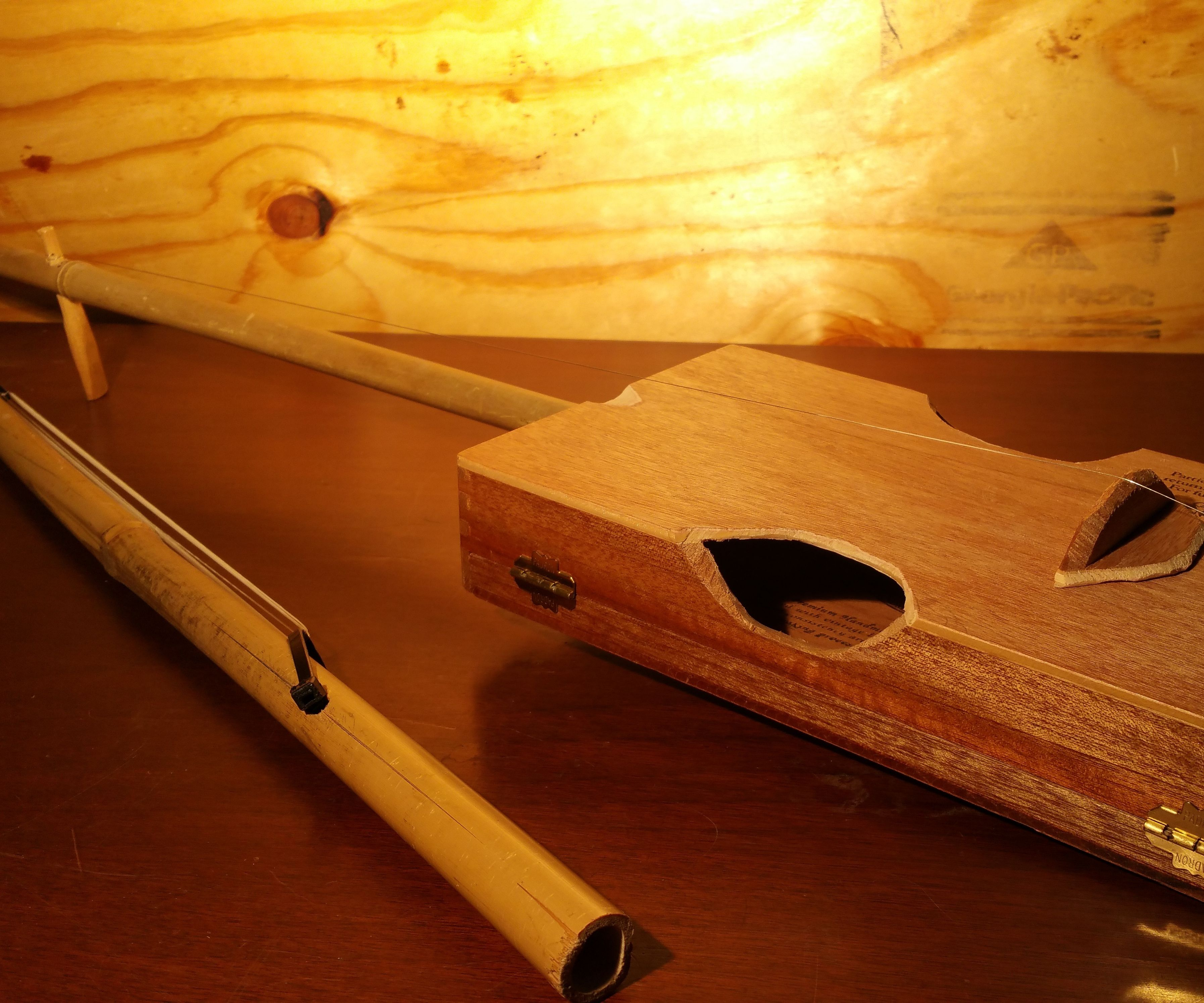 Make a Cigar Box Fiddle and Bow!
