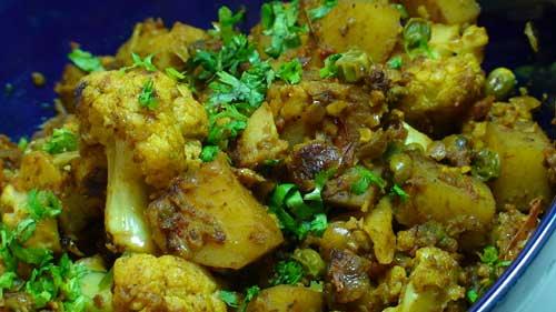 How to Make Aloo Gobi Masala - Spiced Cauliflower & Potatoes Recipe