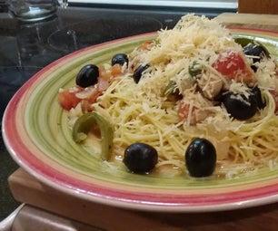Romano Chicken Pasta