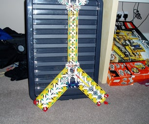 K'nex Flying V Guitar