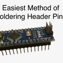 Solder Arduino Header Pins Easily