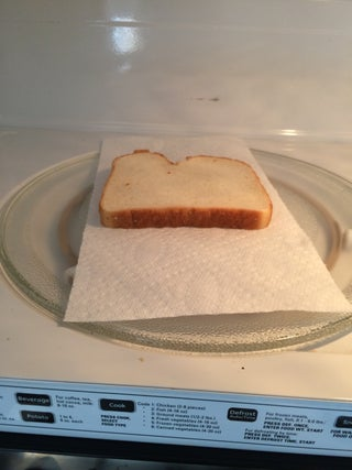 Toast In Microwave 6 Steps Instructables
