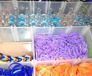 Basic Rainbow Loom Single Bracelet