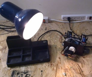 Android Phone Controlled Lamp