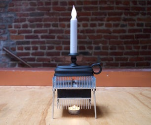 Candle-Powered Electric Candle
