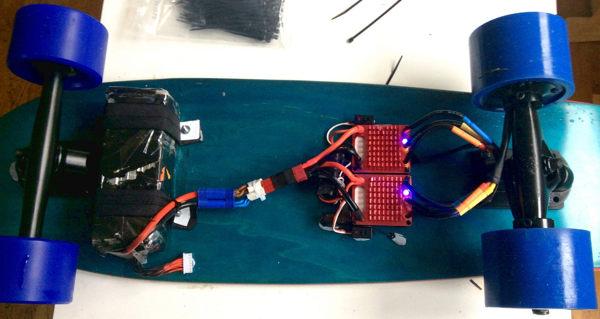 Mounting the Electronics to the Board