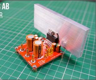 DIY 100 Watt Audio Amplifier