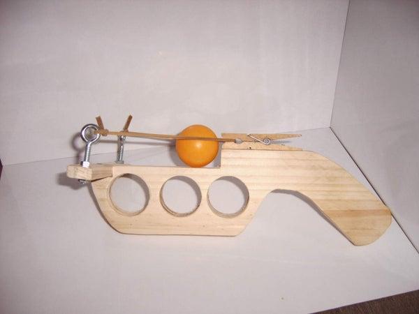 How to Make a Ping Pong Ball Gun