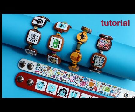 WIKarts: Create Coffee Sticker Bracelets, Earrings, & Necklaces