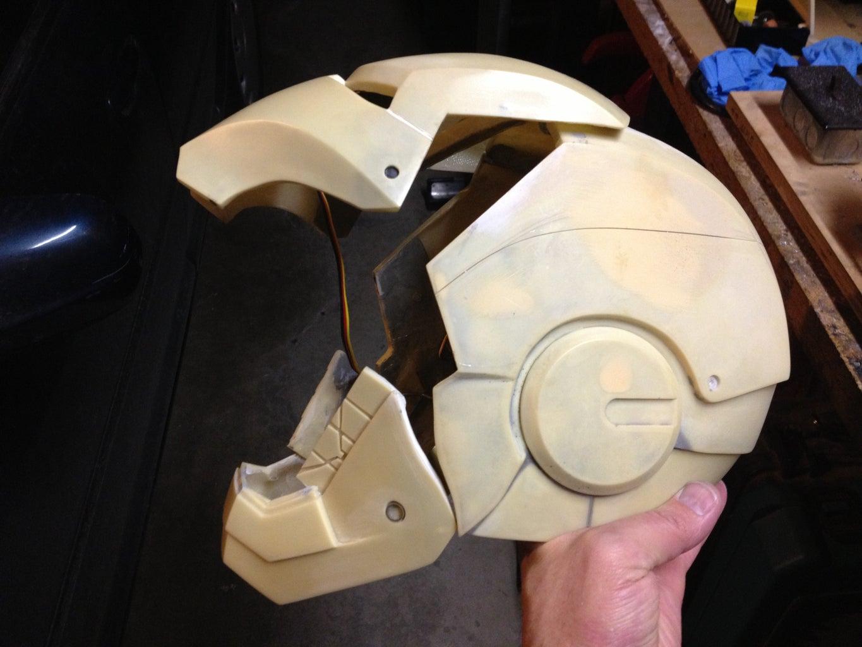 Switch Operated Helmet