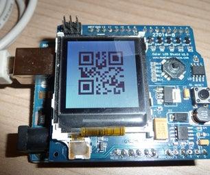 An Arduino-based QR-code Clock