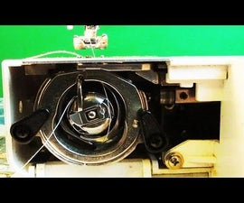 How to Thread Bobbin on Kenmore Sewing Machine Model 12