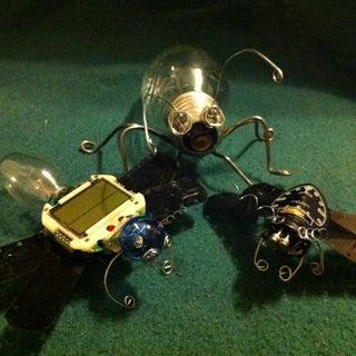 DIY Light Bulb Bugs