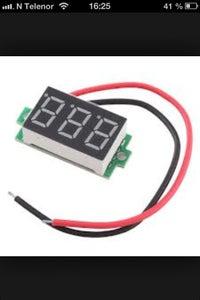 The Digital Voltmeter