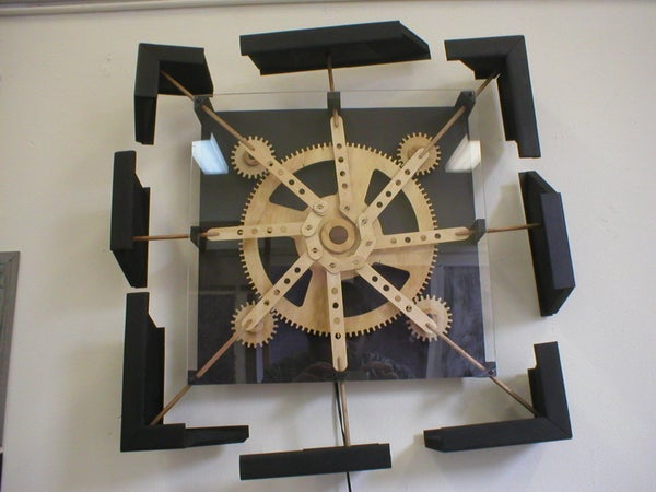 Kinetic Wall Sculptures - Dizzy.