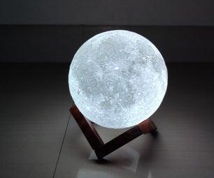 带遥控器的月光灯
