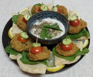 埃及沙拉开胃菜