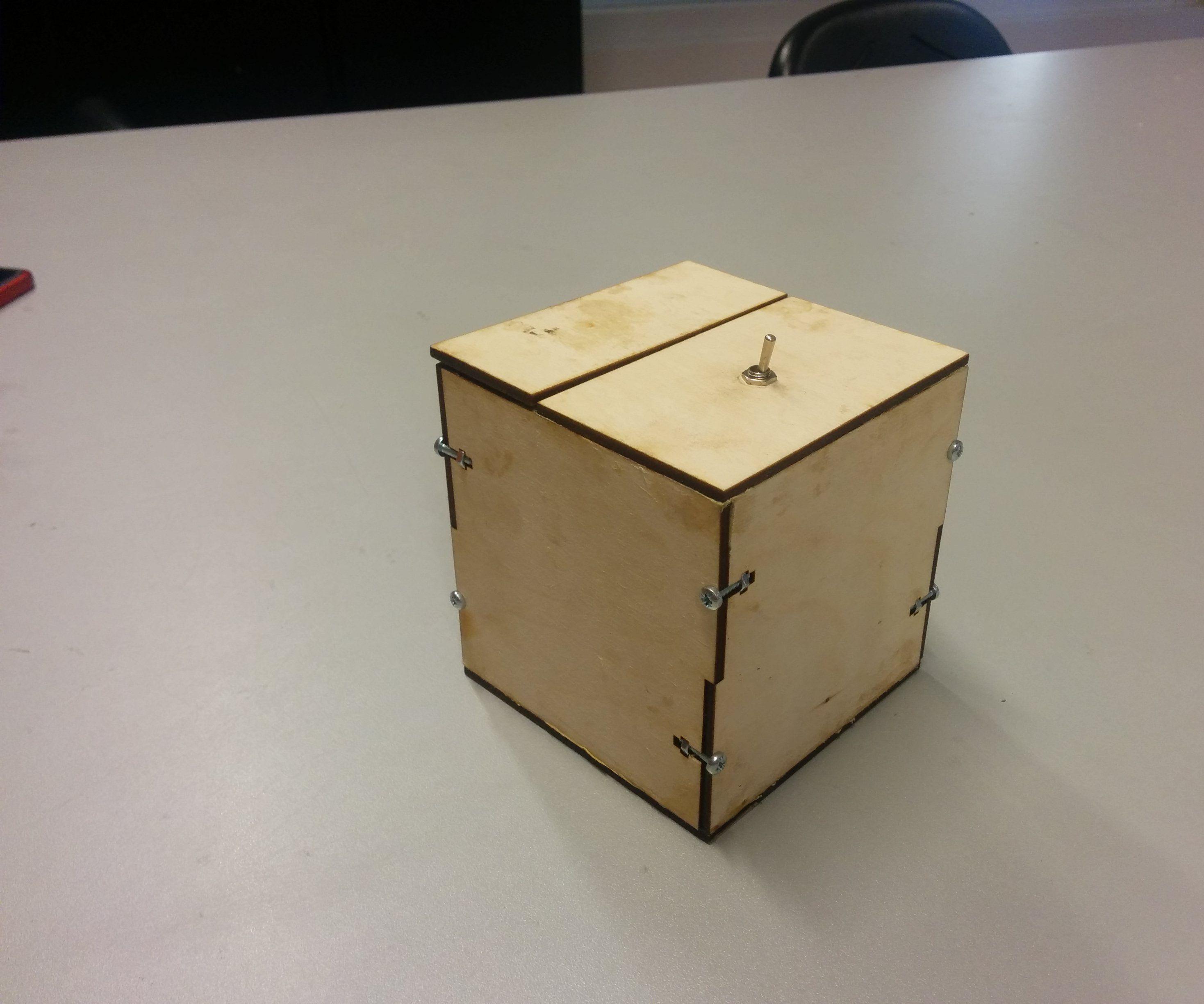 Useless useless box