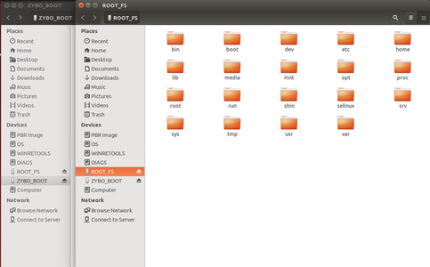 Moving the File System Into the SD Card