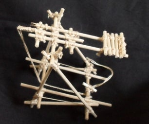 Scout Project: How to build a Trebuchet
