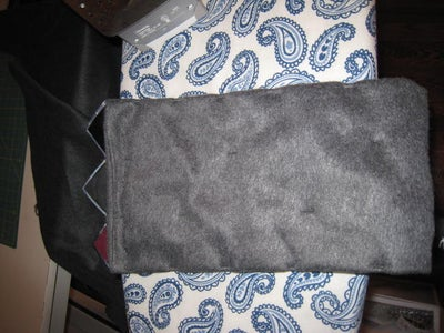 How to Make a Fleece-lined Scarf Out of Neckties