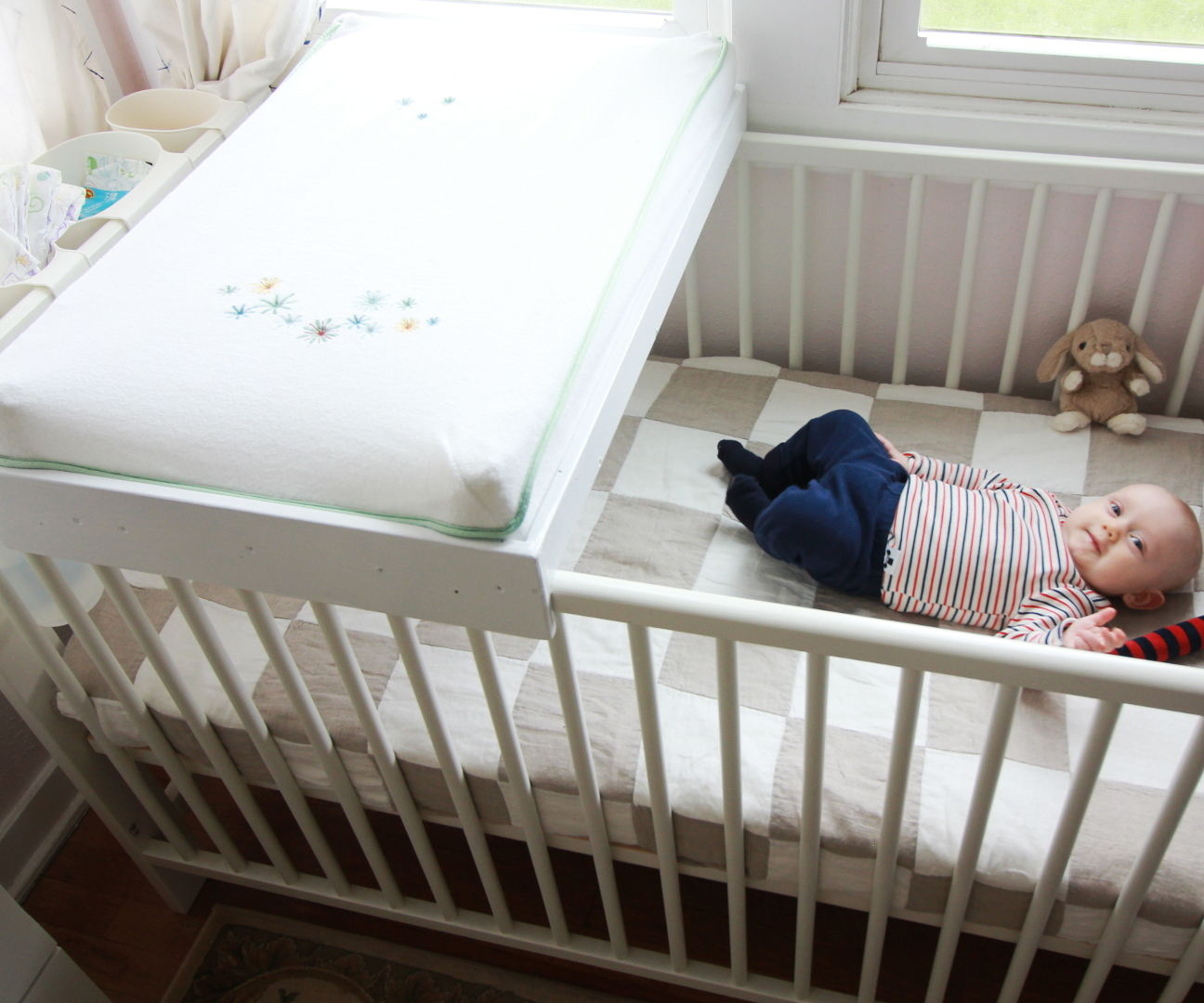 Picture of: Ikea Crib Changing Table Hack 5 Steps With Pictures Instructables