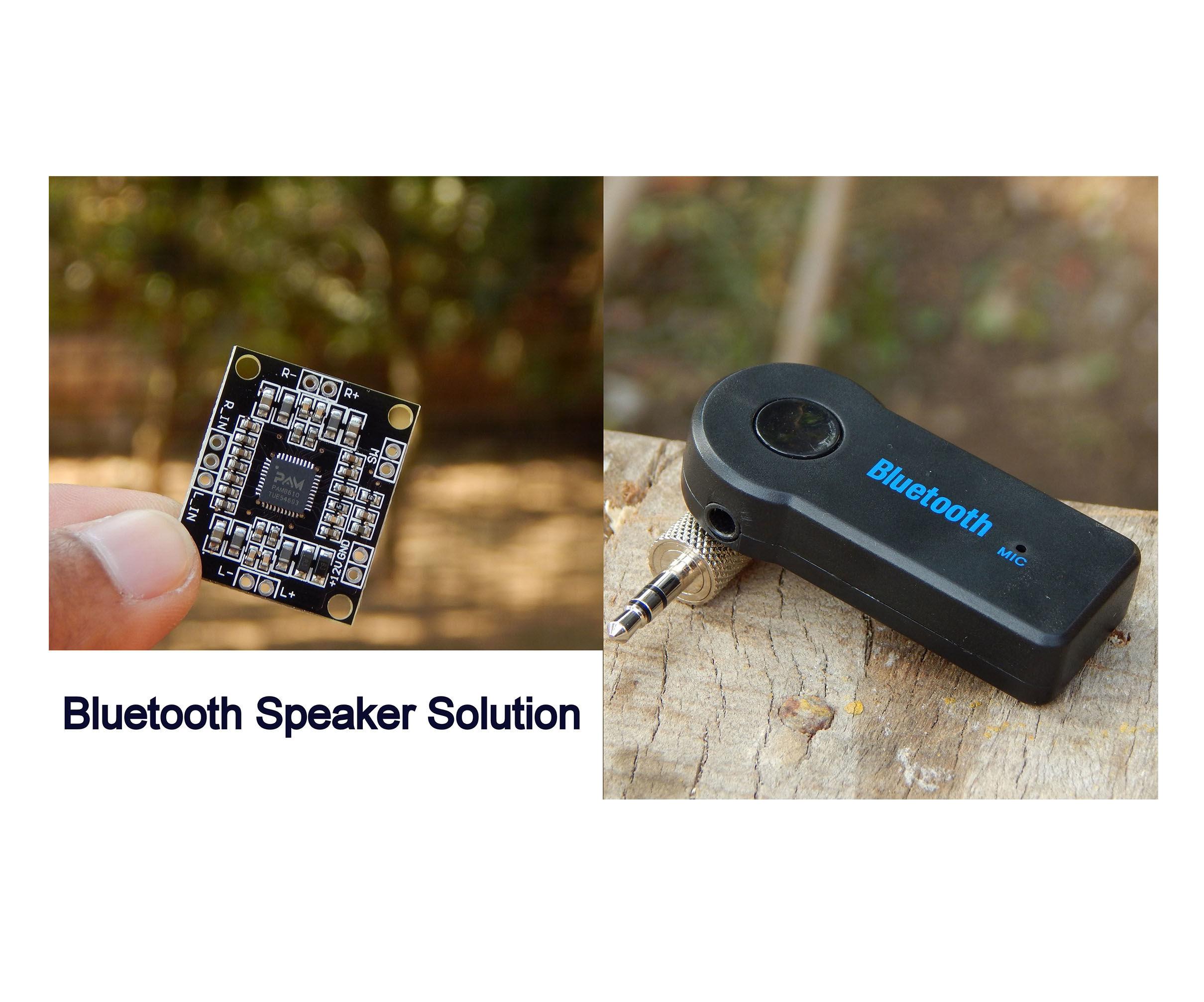 4$ Bluetooth Speaker Solution