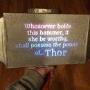 Interactive Thor's Hammer (Mjolnir)
