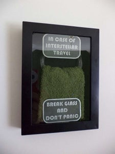 Hang the Emergency Towel Dispenser