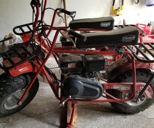 Minibike Seat Suspension  (Coleman CT200U)