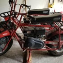 Minibike Seat Suspension  (Coleman CT200U)