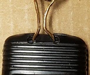 Repairing a Broken Loop on a 2002 Vintage Ford Key Fob