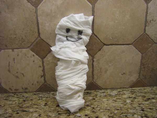 Cool Halloween Mummy Decoration!