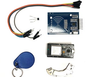 ESP32+RC522+IFTTT=Home Security
