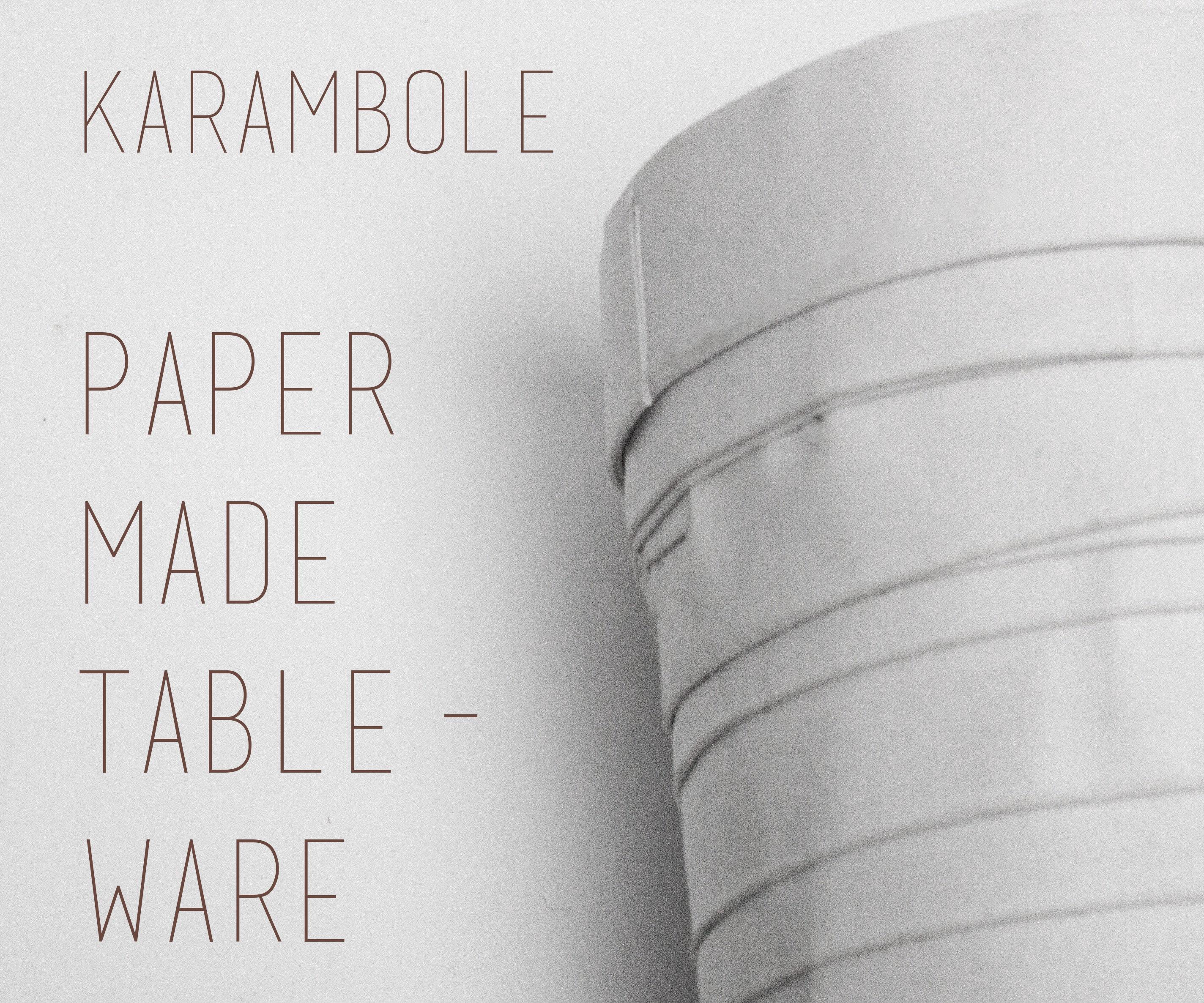 Paper Made Tableware
