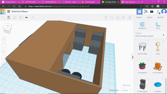 Get the Acrade Machine in the OMSI Hangout in Tinkercad