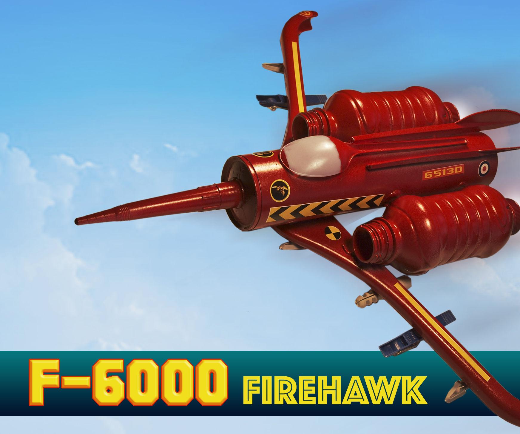 Make an Aircraft - F6000 Firehawk