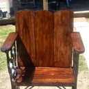 Antique Sewing Machine Frame Chair